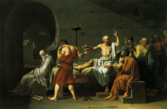 Socrates @ wikipedia.org © Jacques-Louis David