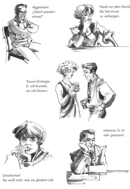 Flirten zeichen deuten