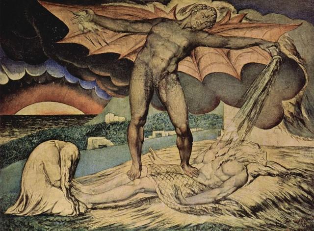 DasTeuflische @ wikipedia.org © William Blake