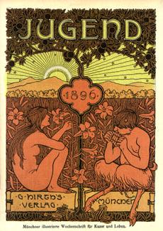 Die Jugend 1896 @ wikipedia.org © nl:Afbeelding:Diejugend1896.jpg
