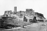 Akropolis Athen 1872 @ wikipedia.org public domain, H. Beck. Original uploader was Bender235 at de.wikipedia