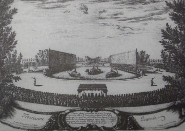 FestlicheRunde @ wikipedia.org Versailles 1664, Die Vergnügen der verzauberten Insel