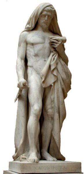 Marcus Porcius Cato @ wikipedia.org Cato der Jüngere