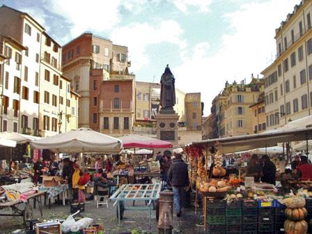 MarktCampoDeFiori @ o-solemio.com